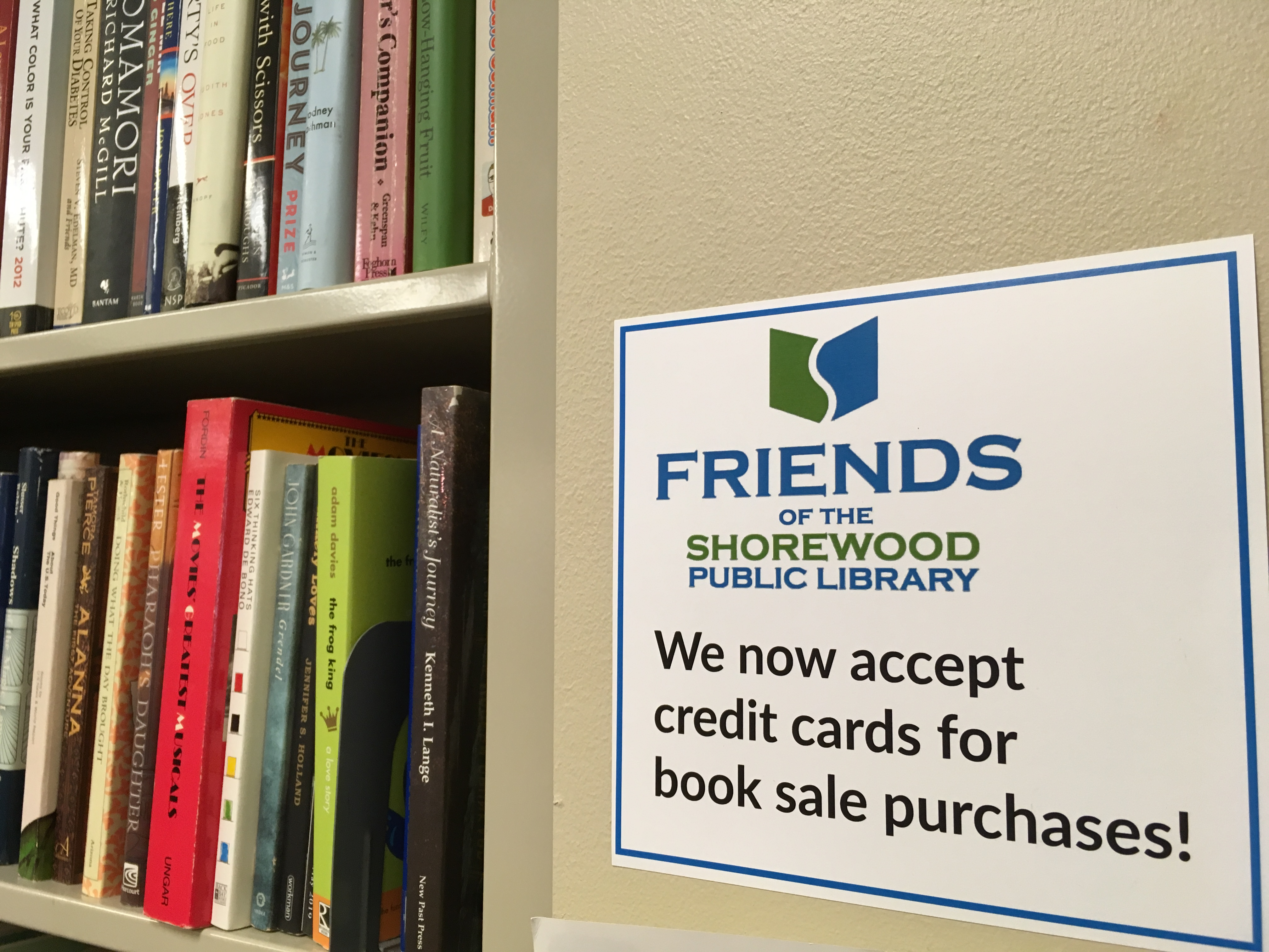 From the Friends: Friends Books and Media Sale - Easy as 1, 2, 3!
